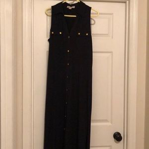 Michael Kors Sleeveless Maxi Dress